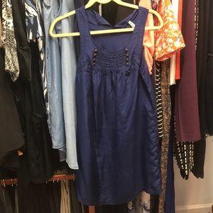 Blue sailor like dress